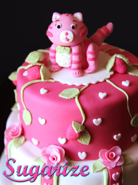 Strawberry shortcake sugarize