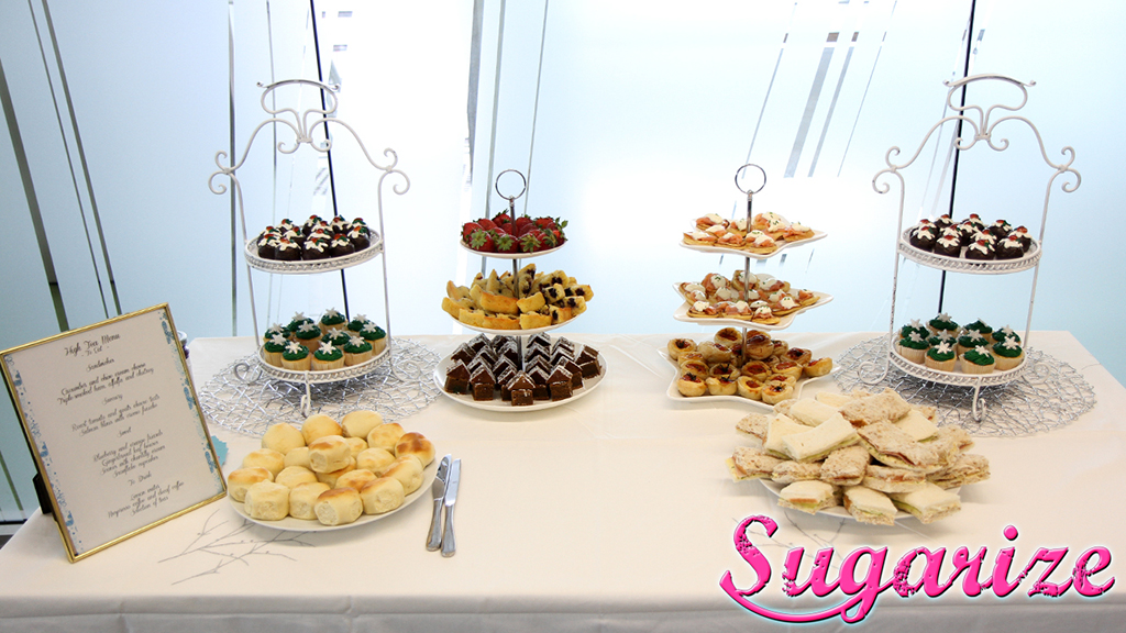 Sugarize high tea catering